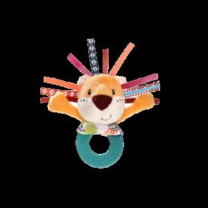 hochet de dentition pour bébé jack le lion lilliputiens