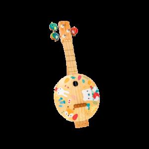 Banjo -pure- bois- Janod-musique