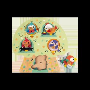 Puzzle -sonore- Oiseau -Janod