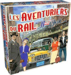 les aventuriers du rail new york Asmodee