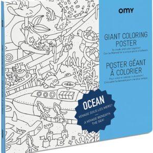 poqter-géant-omy-océan-coloriage